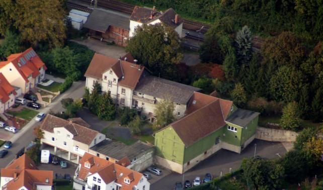 Luftbild des Ewaldshofes
