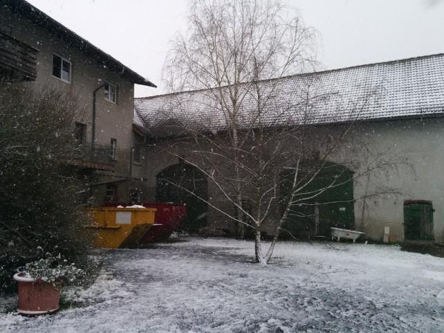Ewaldshof im Schnee