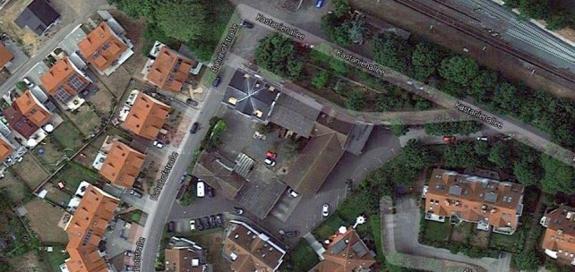 Luftbild vom Ewaldshof 2015