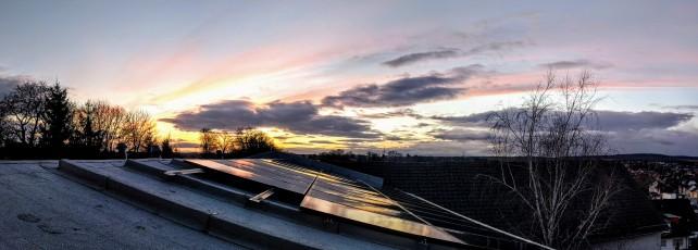 Photovoltaikanlage des Ewaldshofs