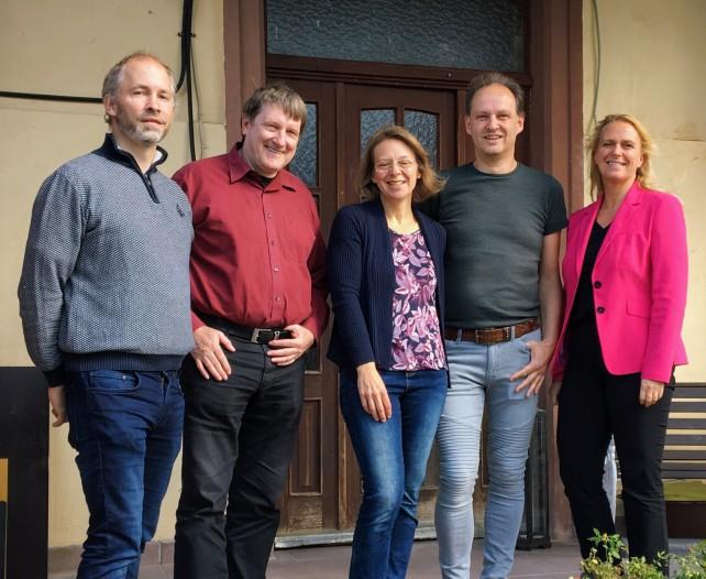 Bürgermeister Hertel und Kreisbeigeordnete Becker-Bösch besuchen den Ewaldshof