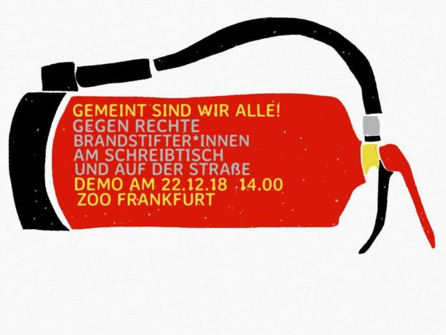 Demo am 22.12.18 14:00 Zoo Frankfurt